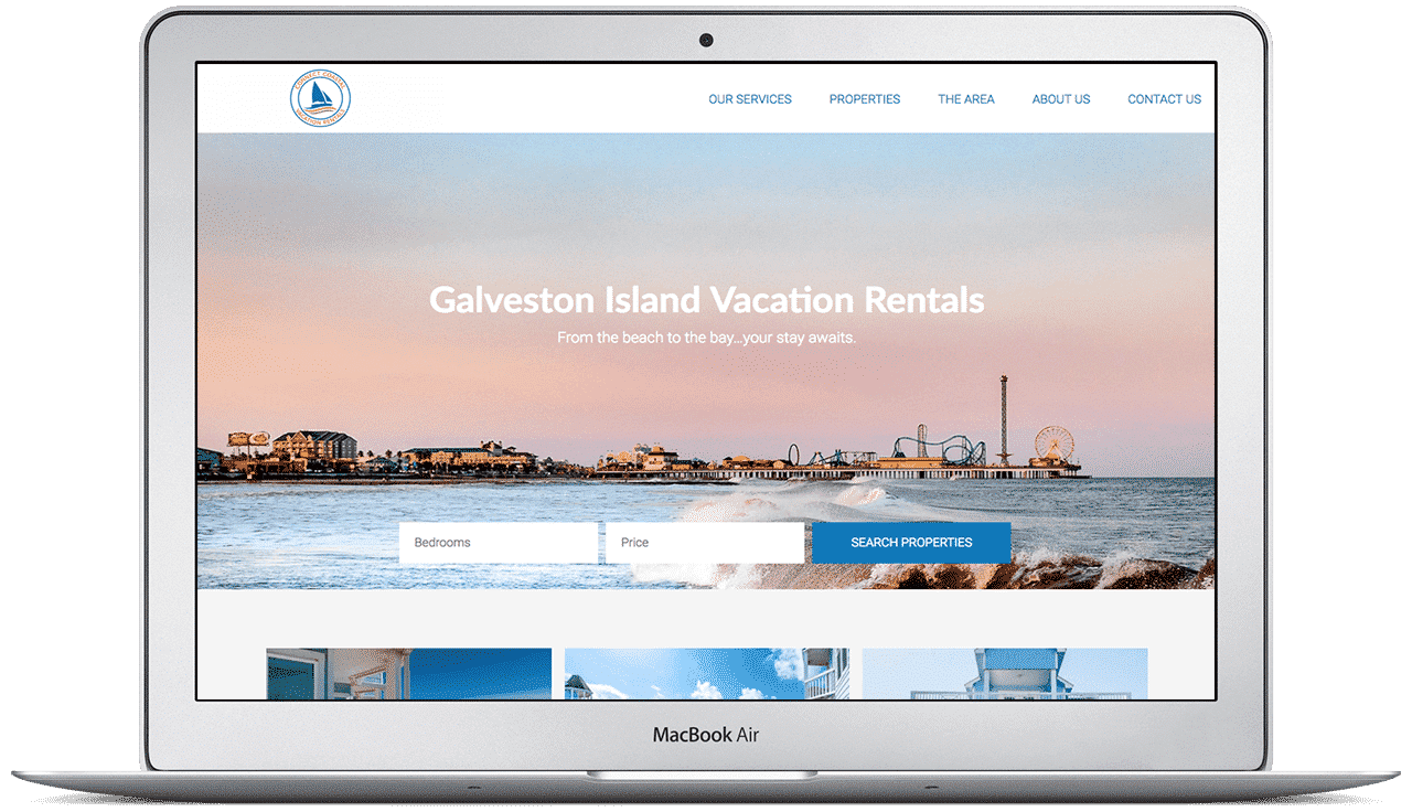 dwellTEK Website example